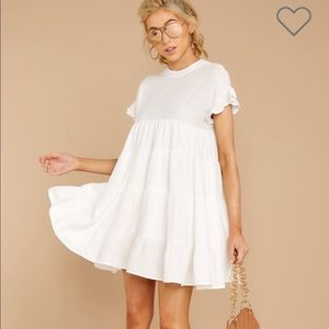 Nothing More Nothing Less White Dress